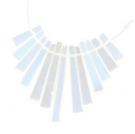 13 Piece Opalite Gemstone Collar Set