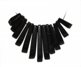 13 Piece Black Jasper Collar Set - Pack of 1