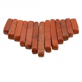 13 Piece Red Jasper Collar Set - Pack of 1