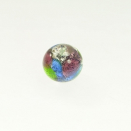Multi Color Foil Round Size 14mm, Silver Foil