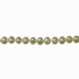 4-5mm Freshwater Potato Pearls - 16 Inch Strand