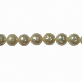 9-10mm Freshwater Potato Pearls - 16 Inch Strand