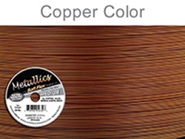 Soft Flex Beading Wire, Metallic Copper, .019 Inch, 30 Feet