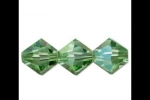 Peridot AB Bicones - 4mm (Package of 12)