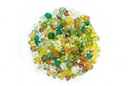 Earthtone--Bicone Crystal Mix - 4mm (1 gross)