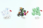 Oh! Christmas Tree Earring Bead Kit - Green