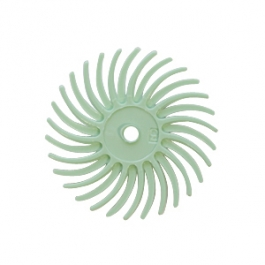Radial Disc, Light Green, 9/16 Inch, 1 Micron, Pack of 12
