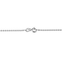 Sterling Silver Ball Chain 1.5mm 18 inch - Pack of 1