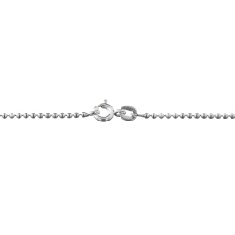 Sterling Silver Ball Chain 1.5mm 24 inch - Pack of 1