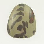 22x27mm Australian Zebra Stone OOAK Cabochon