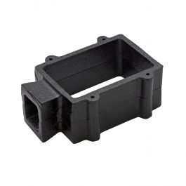 2 Piece Cast Iron Sand Casting Frame - 4 Pins	SAND CASTING FLASK