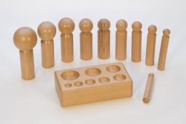 11 Piece Wood Dapping Set