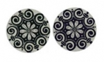 "Lillypilly - Black Cleopatra - 3/4"" Disc (PKG 2)"