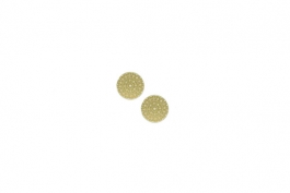 "Lillypilly - Gold Sundial - 5/8"" Disc (PKG 2)"