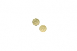 "Lillypilly - Gold Circles - 5/8"" Disc (PKG 2)"