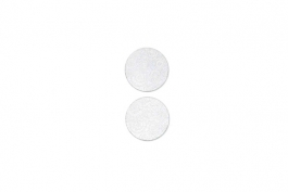 "Lillypilly - Silver Circles - 1"" Disc (PKG 2)"