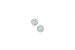 "Lillypilly - Silver Waves - 5/8"" Disc (PKG 2)"