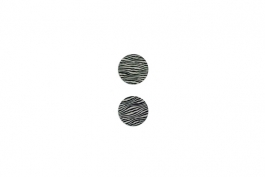 "Lillypilly - Black Waves - 3/4"" Disc (PKG 2)"