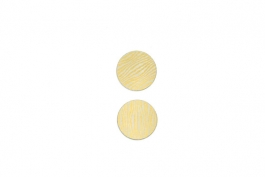 "Lillypilly - Gold Waves - 1"" Disc (PKG 2)"