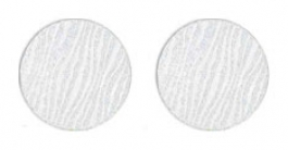"Lillypilly - Silver Waves - 1"" Disc (PKG 2)"