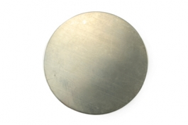 "Sterling Silver Metal Discs 5/8"" - Pack of 4"