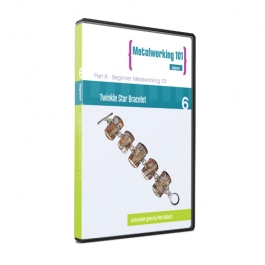 Metalworking 101 Beginner Series DVD 6: Twinkle Star Bracelet