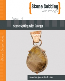 Stone Setting with Prongs featuring Kim St. Jean - 4 DVD Set