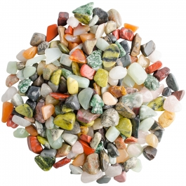 1 Kilo Assorted Tumbled Gemstone Mix