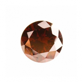 10mm Round Garnet CZ  - Pack of 1