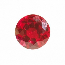 10mm Round Ruby Corundum - Pack of 1