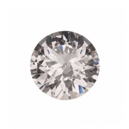 10mm Round White CZ - Pack of 1