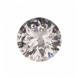 White CZ Diamond Simulants