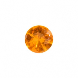 4mm Round Citrine CZ - Pack of 5
