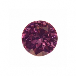 4mm Round Lavender CZ - Pack of 5