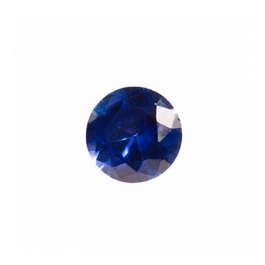 4mm Round Sapphire CZ - Pack of 5