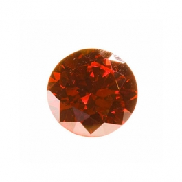 5mm Round Red CZ - Pack of 5