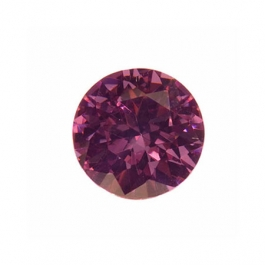 5mm Round Lavender CZ - Pack of 5