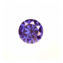 5mm Round Tanzanite CZ - Pack of 5