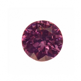 6mm Round Lavender CZ - Pack of 2