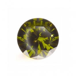 6mm Round Olive CZ - Pack of 2