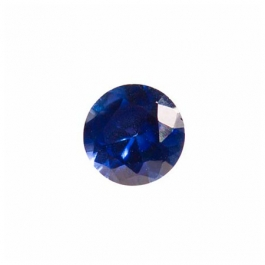 6mm Round Sapphire CZ - Pack of 2
