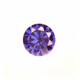 6mm Round Tanzanite CZ - Pack of 2