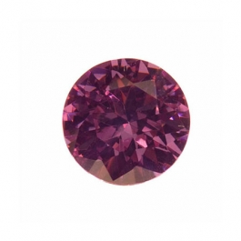 8mm Round Lavender CZ - Pack of 1