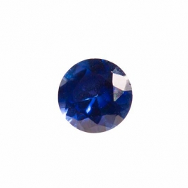 8mm Round Sapphire CZ - Pack of 1