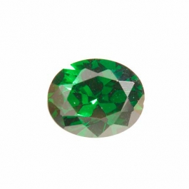 10X8mm Oval Emerald Green CZ - Pack of 1