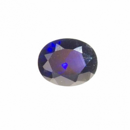10X8mm Oval Sapphire CZ - Pack of 1