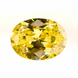 20X15mm Oval Peridot CZ - Pack of 1