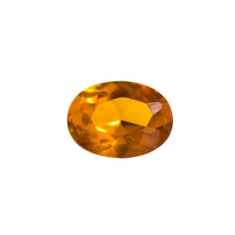 8X6mm Oval Citrine CZ - Pack of 1