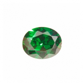 8X6mm Oval Emerald Green CZ - Pack of 1