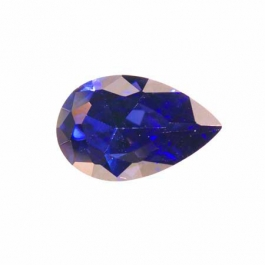 14X9mm Pear Tanzanite CZ - Pack of 1